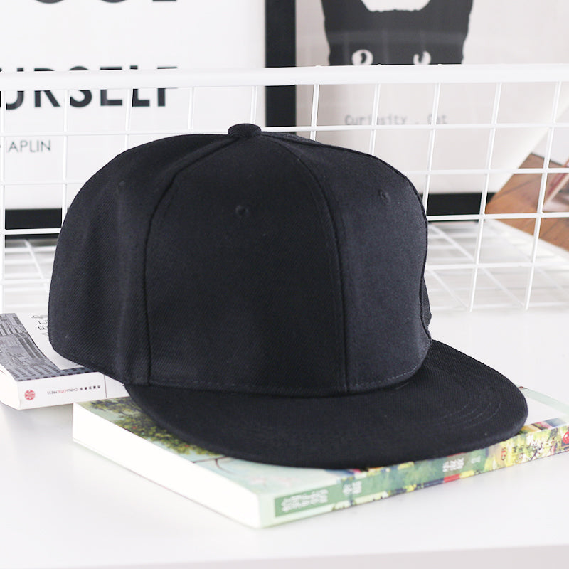 Hiphop Rapper Bboy DJ Popper Locker dancer baseball cap snapback men women black white red blue pink solid Khaki sun cap hat