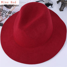 Load image into Gallery viewer, Retro Women Ladies Hats Ala Jazz Hat Spring Summer Cap Cotton Imitation Wo Bowler Hats New Round Caps