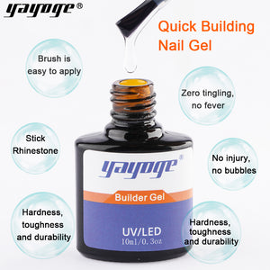 YAYOGE #5 Color UV LED Builder Liquid Gel Quick Extension Liquid - YAYOGE Official