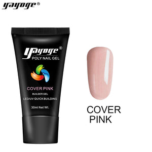 YAYOGE Cover Pink Poly Nail Gel - YAYOGE Official