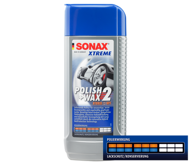 SONAX Xtreme Polish + Wax 2 Hybrid NPT 250ml