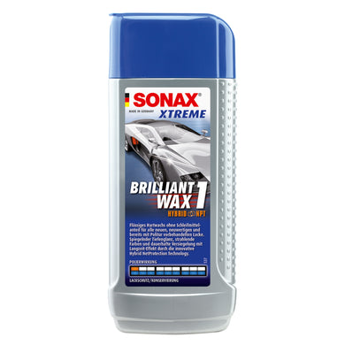 SONAX Xtreme Brilliant Wax Hybrid 1 NPT 250ml