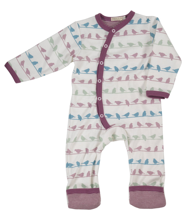 Multi-Colour Bird Romper