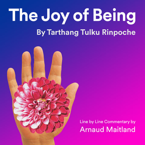 The Joy of Being, Tarthang Tulku - line by line commentary by Arnaud Maitland - Download - Dharma Publishing