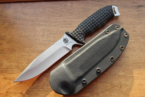 Personalized Anglesey LLC Rival Hunting Knife with Tactical Sheath