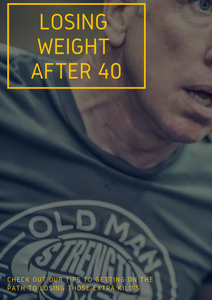 Losing Weight after 40 – Starting Out
