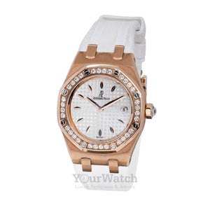 Audemars Piguet Royal Oak Diamond Rose Gold Ladies Watch 67601OR