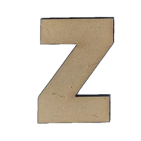 Wood Letters - ''Z'' (Two Pack)