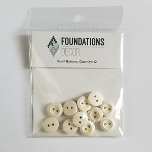 Buttons - Off White Small