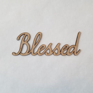 """Blessed"" - smooth font"