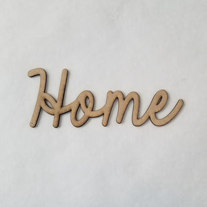 """Home"" - smooth font"