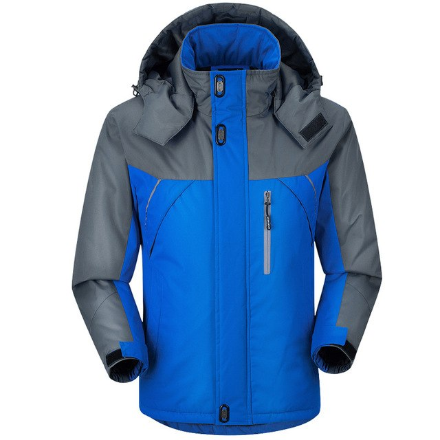 Winter Men Jacket Padded Jacket Male Thermal Coat Men Tourism Jackets Outerwear Waterproof Windproof Chaqueta M-Xxxxl img 1