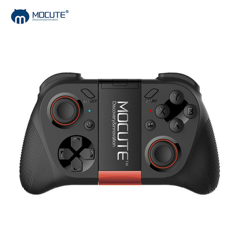 sampurchase MOCUTE 050 VR Game Pad Android Joystick Bluetooth Controller Selfie Remote Control Shutter Gamepad for PC Smart Phone + Holder