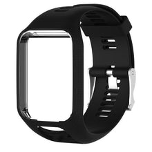 sampurchase Smartband Silicone Strap band Frame Waterproof Watch Strap Replacement Bracelet for TomTom Runner 2/Spark/Spark 3/Adventurer