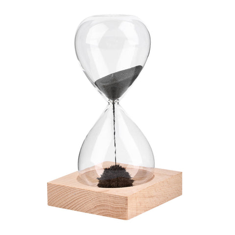 SAMPURCHASE Awaglass Hand-blown Timer clock Magnet Magnetic Hourglass