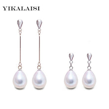 sampurchase Fashion Brand Natural Pearl Statement Earrings Outstanding For Women Long Earring 925 Sterling Silver Jewelry  Wedding Gift