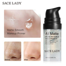sampurchase  SACE LADY Face Primer Base Makeup Natural Matte Make Up Foundation Primer Pores Invisible Prolong Facial Oil-control Cosmetic