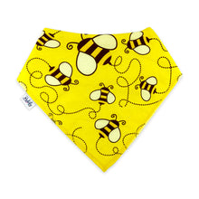 Load image into Gallery viewer, Bandana Bibs 4 Pack - Honey