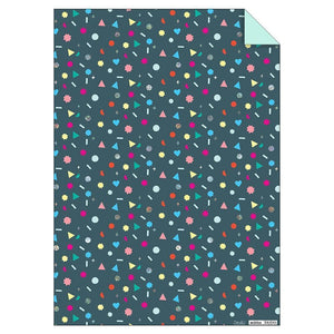 Waterlemon Kids - Geometric Shapes Sheet Wrap - Gift Wrap