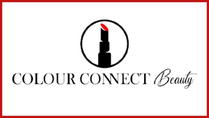 colour-connect-beauty-logo-design-white-background-red-and-black-lettering-red-and-black-lipstick-icon-site-sells-apparel-with-purpose-makeup-cosmetics-eyeliner-eyeshadow-brushes-tote-bags-iphone-covers-home-products-pillows-with-lipstick-designs