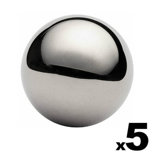 "5 - 1-1/2"" (1.5"") Inch G25 Precision Chrome Steel Bearing Balls"