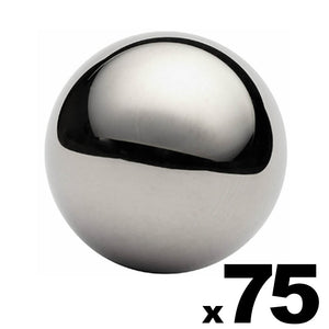 "75 - 3/4"" Inch G25 Precision Chrome Steel Bearing Balls"