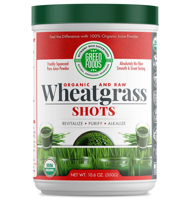 Wheat Grass Shots