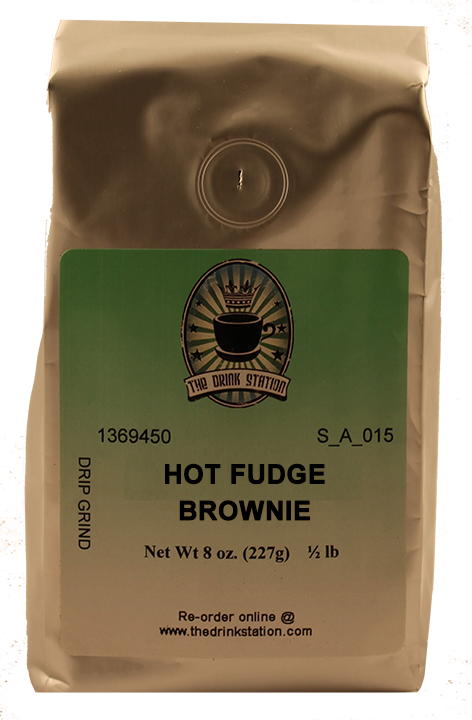 Hot Fudge Brownie Flavored Coffee