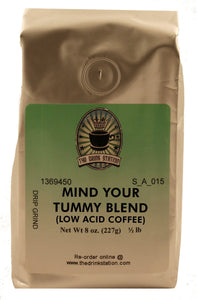 Mind Your Tummy Blend Low-Acid Coffee SAMPLE