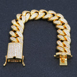 20mm Iced Cuban Bracelet