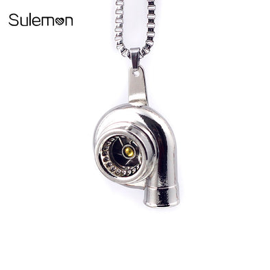 Mini Turbocharger Necklaces
