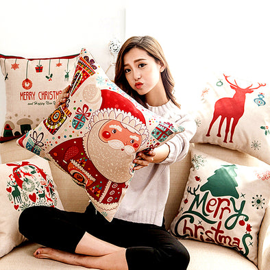 1Pc Christmas Pillow Covers