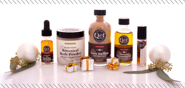 Qēt Botanicals Green winter skin care tips