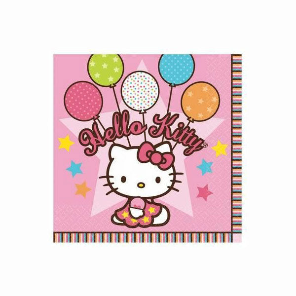 Hello Kitty Party Supplies - Luncheon Napkins