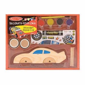 Melissa & Doug Arts & Crafts - Wooden Race Car