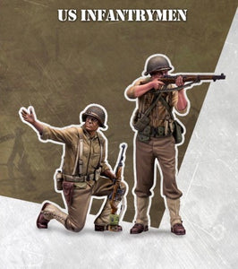 SCALE75 SW72009 US INFANTRYMEN 1:72 Scale Resin