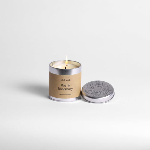 St Eval Bay & Rosemary Tin Candle