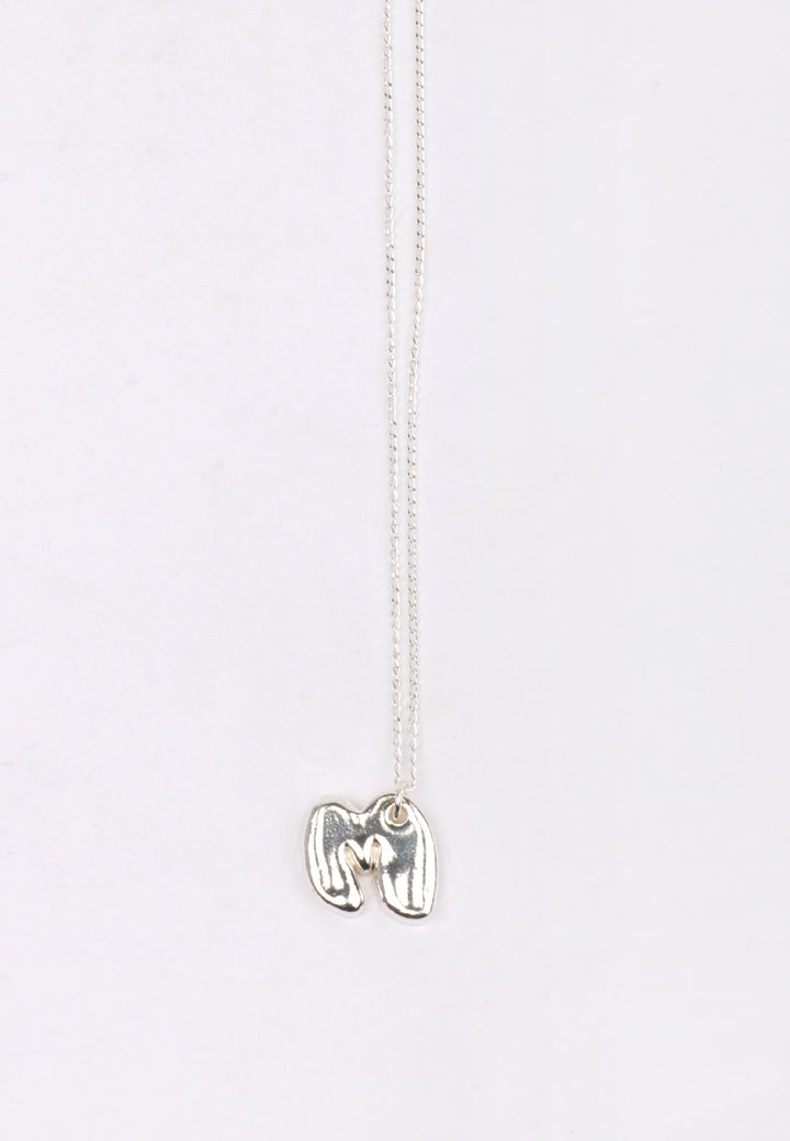 27Mollys Letter M Pendant - silver | GOOD AS GOLD | NZ