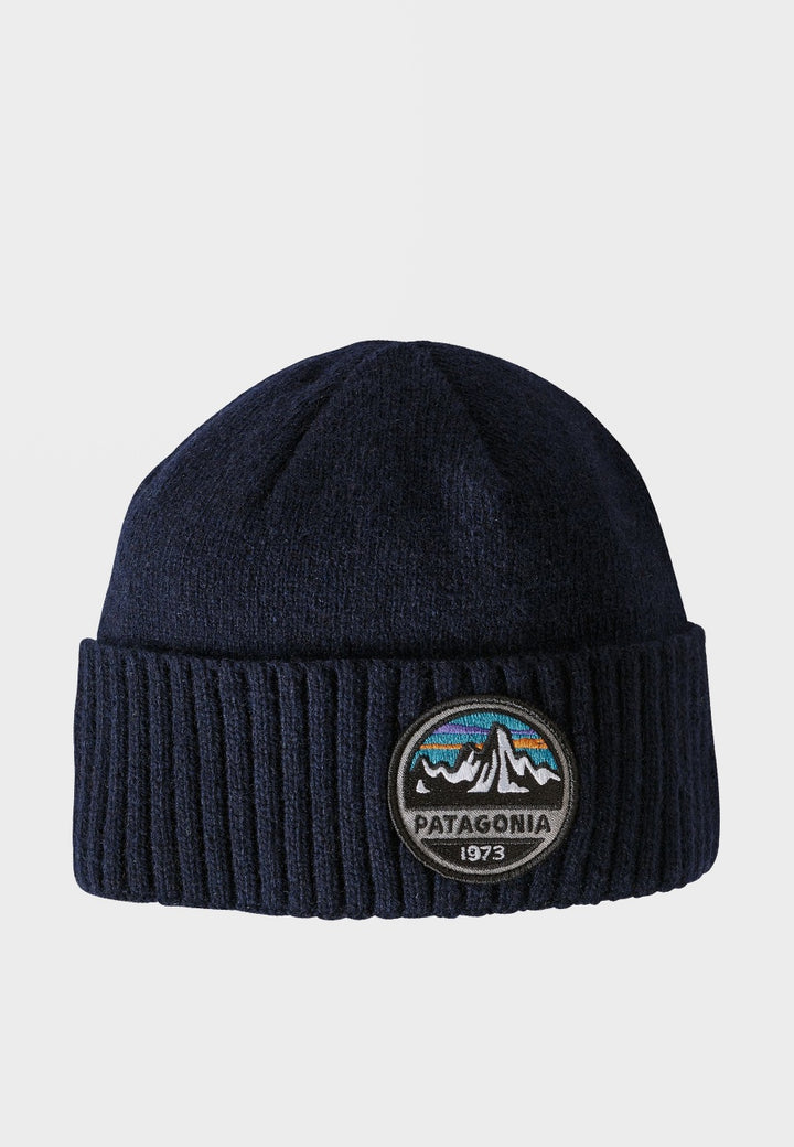 Patagonia Brodeo Beanie - fitz roy/navy blue - Good As Gold