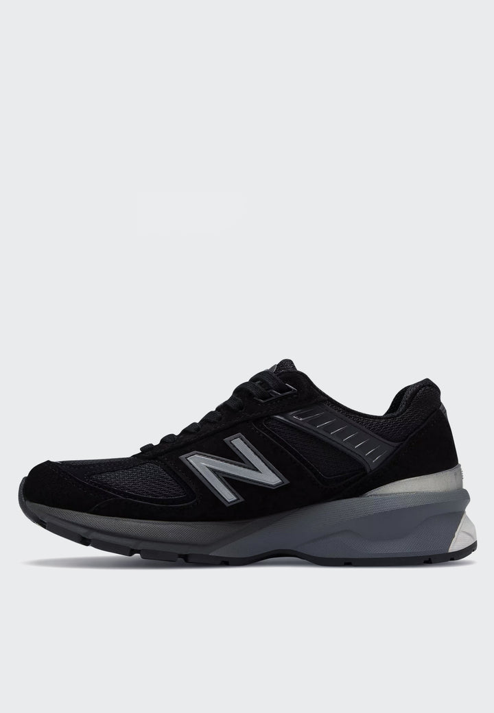 Womens 990v5 Made in US - black/silver