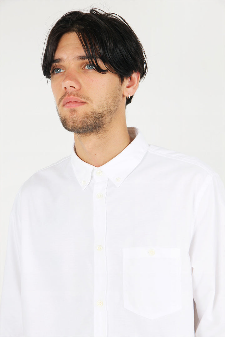 Norse Projects Anton Oxford Shirt - white | GOOD AS GOLD | NZ