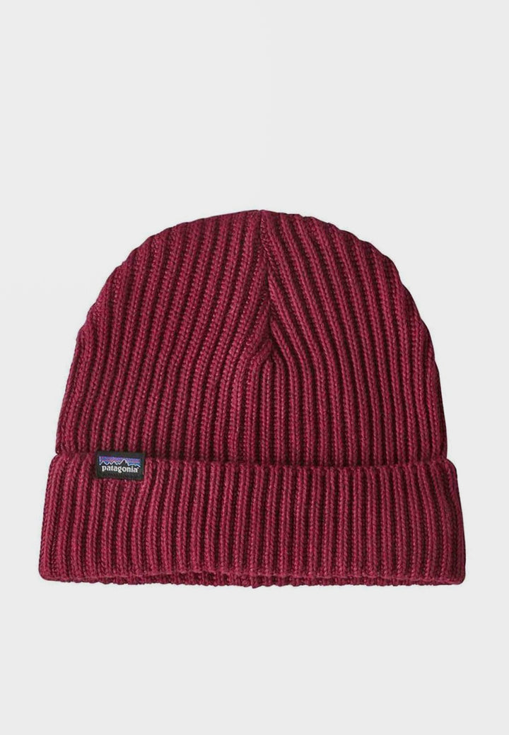 Fishermans Rolled Beanie - oxide red
