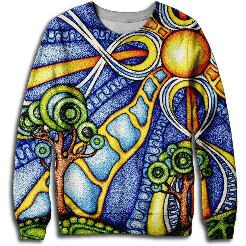 Stained Glass Sweatshirt