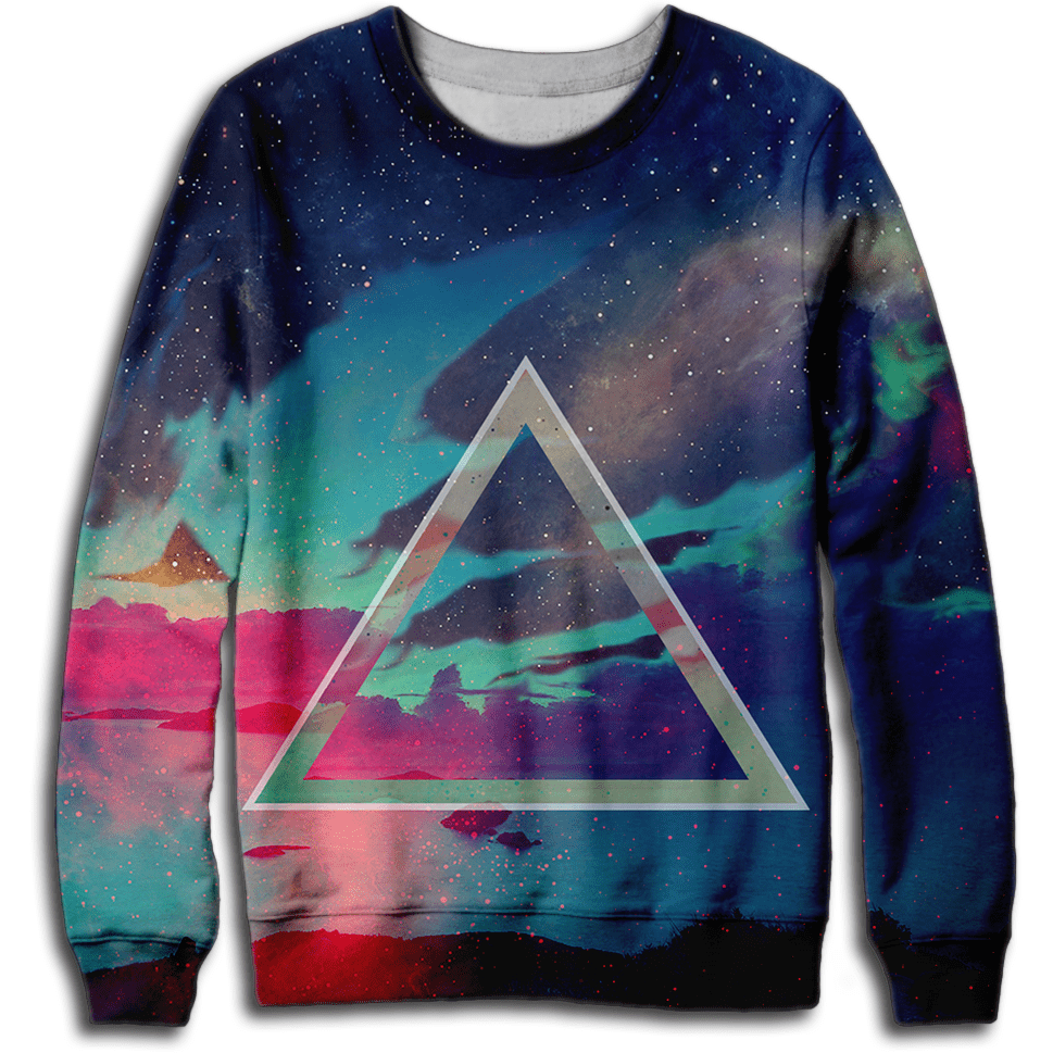 Celestial Triangle Sweatshirt