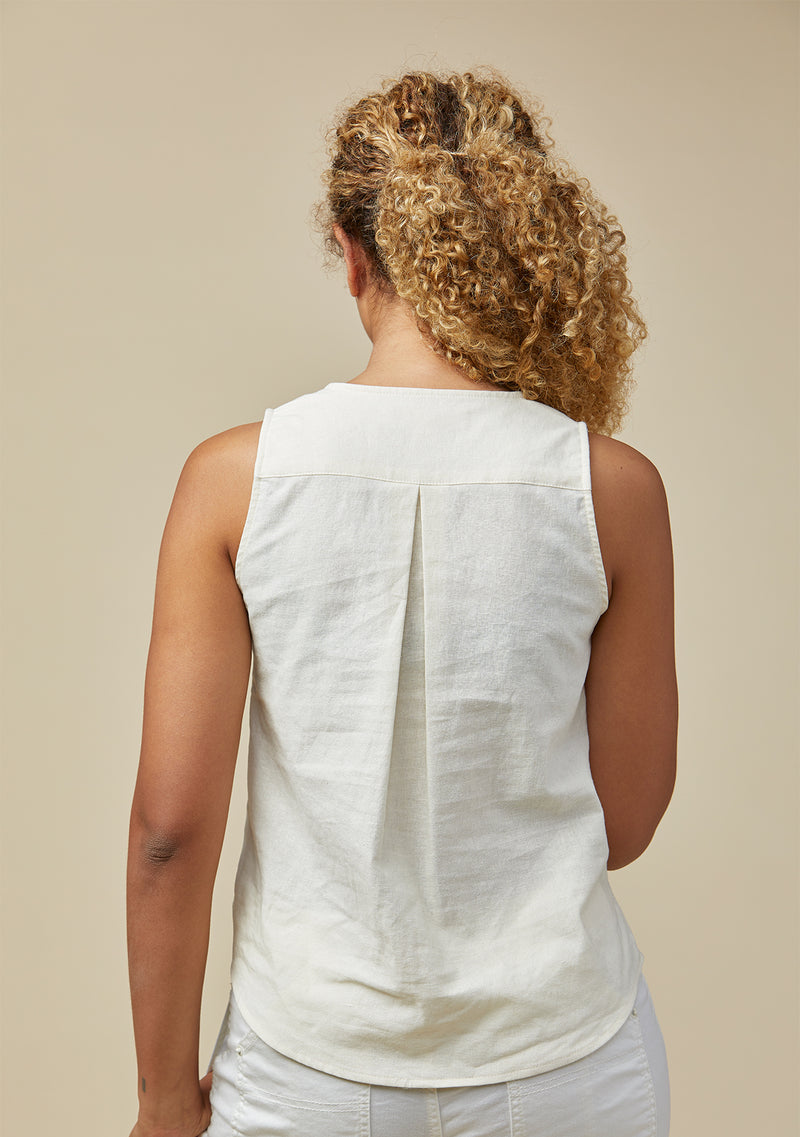 Lupe Linen Tank