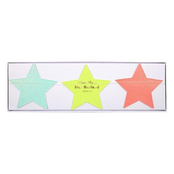 Multicolour Star Garland