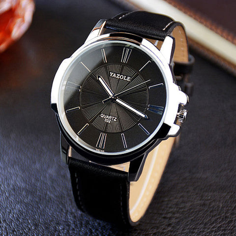 "Luxury Quartz Watch ""Business"" - UrbanWorld.eu"