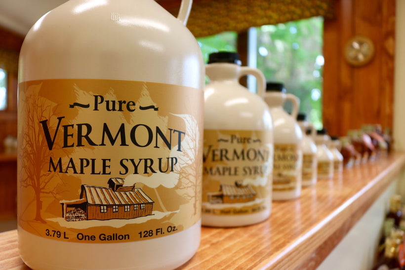 Vermont Maple Syrup - Plastic Containers