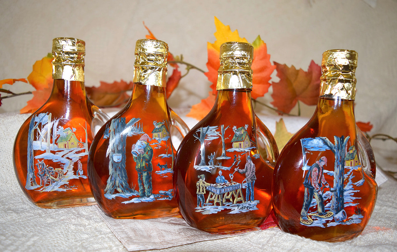 Sugaring Scene - 4 Bottle Set - Maple Syrup