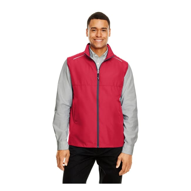 Mens Techno Lite Unlined Vest - Xsmall / Classic Red/carbon - Outerwear